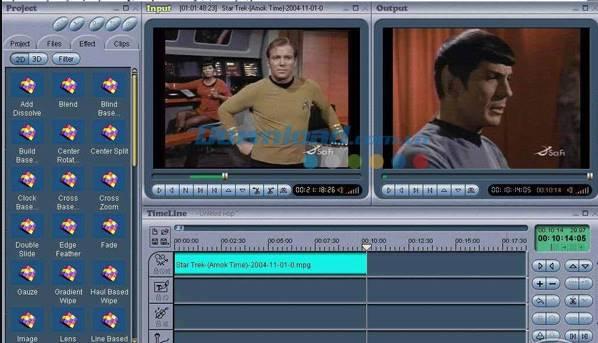 Phần mềm Chỉnh sửa Video tốt nhất Video wizard