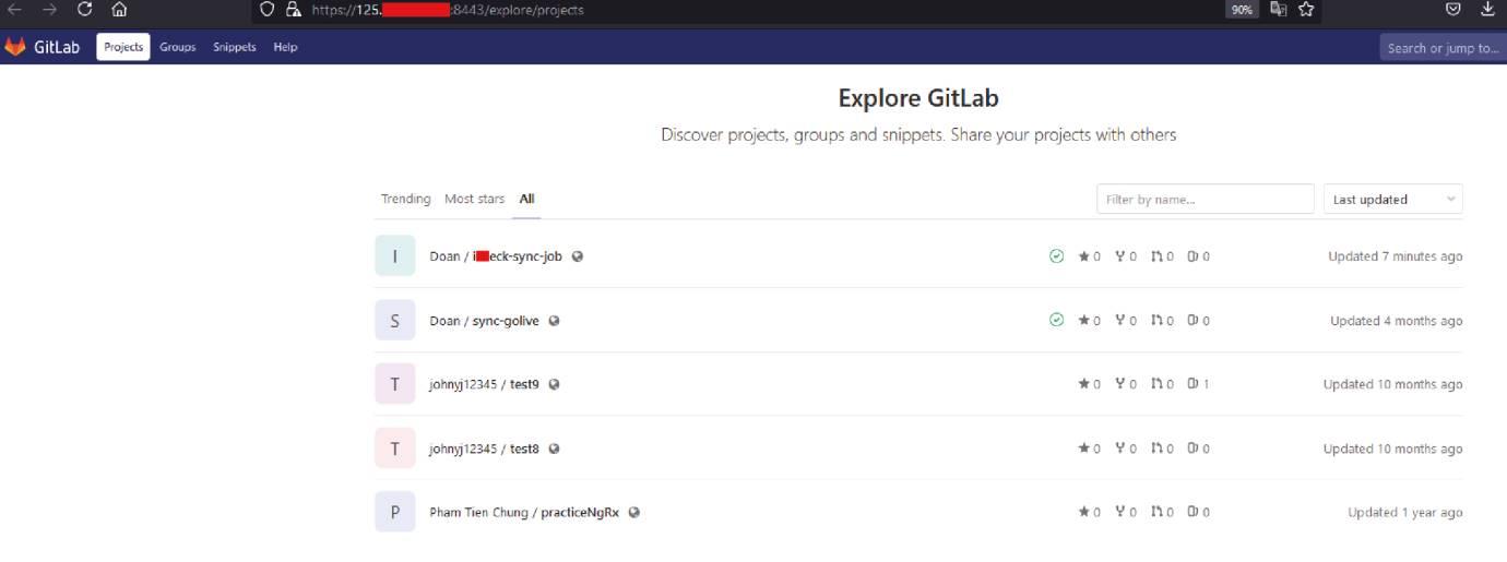 Repository của GitLab – nơi chứa các mã nguồn