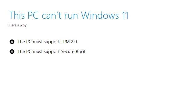 sua loi PC cant run Windows 11