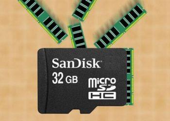 Cách tăng RAM điện thoại Android bằng thẻ nhớ MicroSD 1
