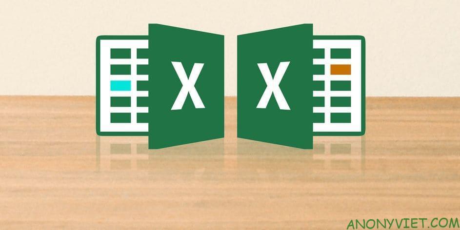 Cách so sánh 2 file Excel