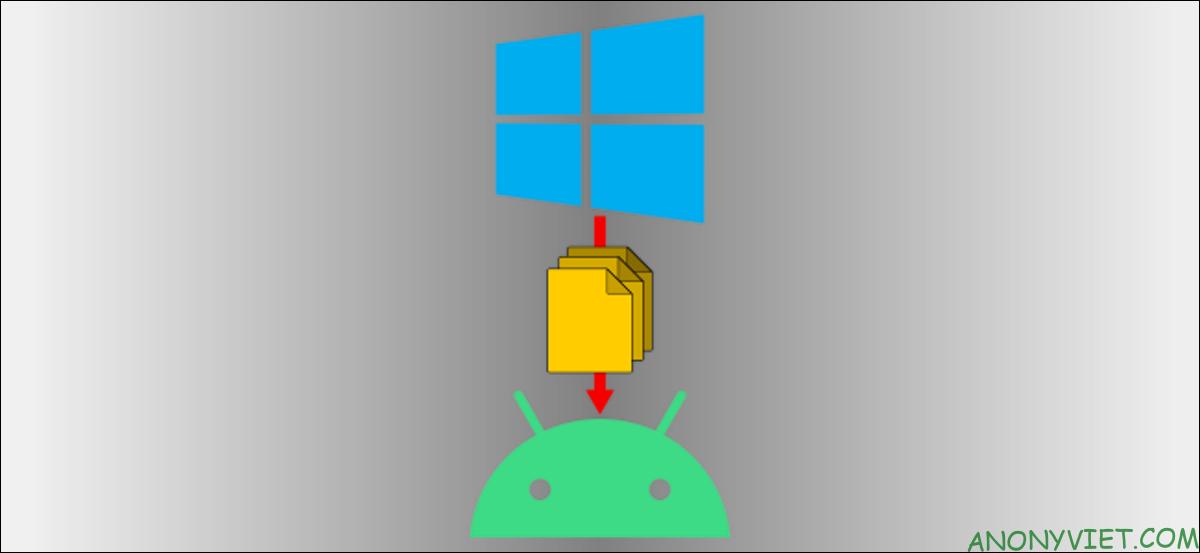 chuyển Dữ liệu từ Điện thoại sang Máy tính không cần dùng cáp