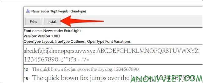 Cách sử dụng Google Font trong Microsoft Word 41