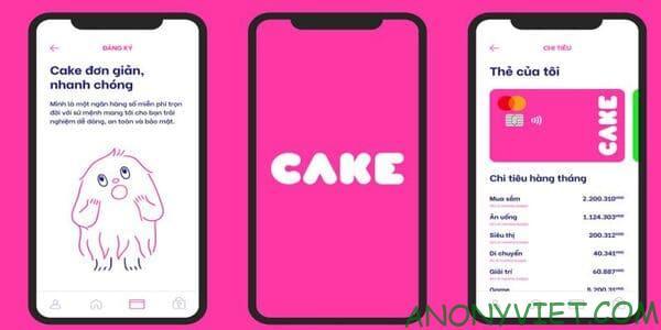 Cách nhận 50k miễn phí từ ứng dụng Cake