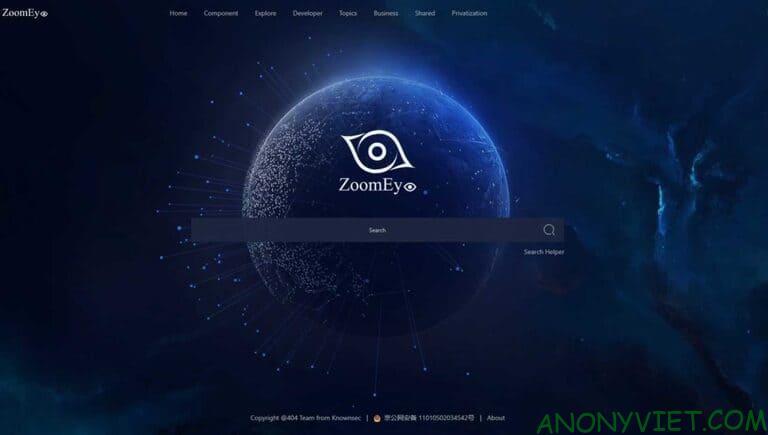 Zoomeye: Công cụ tìm kiếm của hacker chuyên nghiệp