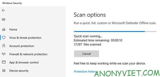 Định cấu hình Microsoft Defender