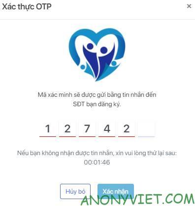 đăng ký tiêm vắc xin covid trực tuyến
