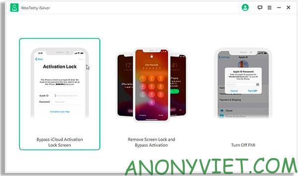 iCloud Activation Lock Screen