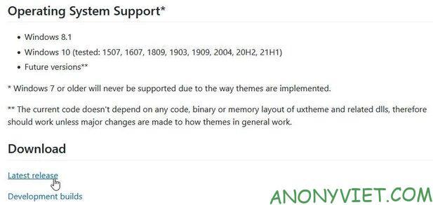 Thay đổi theme và icon của Windows 10 thành Windows 11