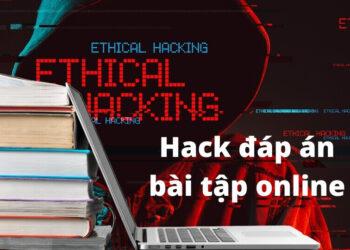 Cách hack đáp án bài tập online