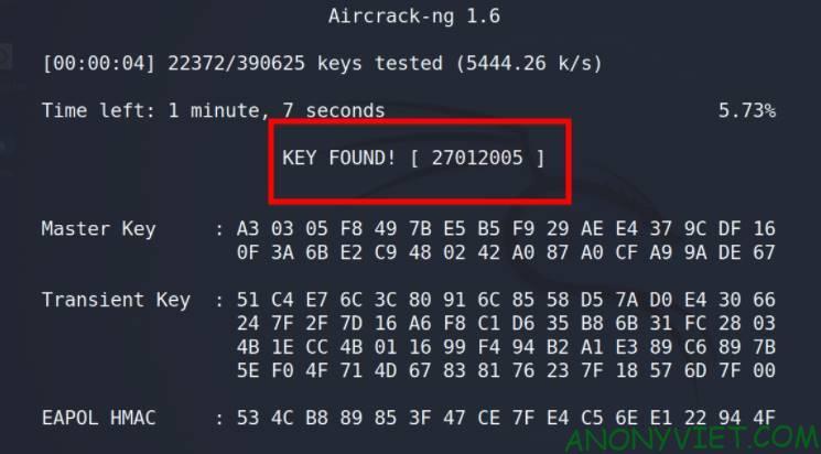 Hack Password WiFi WPA/WPA2 key