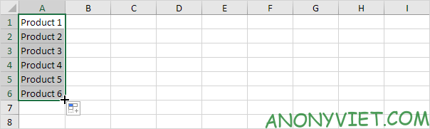 Cách sử dụng tính năng Range - AutoFill Excel 85