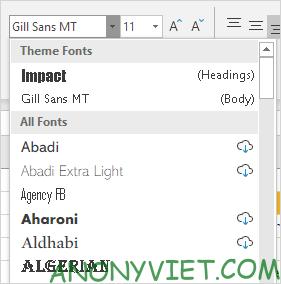 Bài 27: Cách sử dụng Themes trong Excel 36