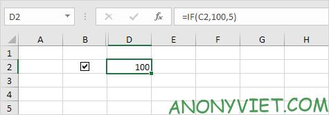 Bài 26: Cách sử dụng Checkbox trong Excel 89