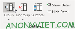 Group Excel