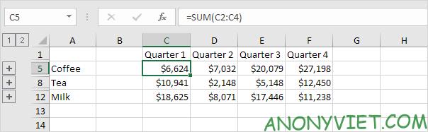 Bài 35: Cách hợp nhất trang tính để xử lý dữ liệu ở các File Excel khác nhau 35