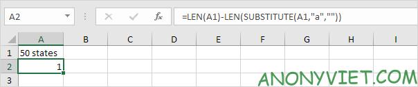 Bài 106: Cách đếm kí tự trong Excel 34