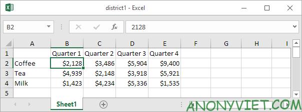 Bài 35: Cách hợp nhất trang tính để xử lý dữ liệu ở các File Excel khác nhau