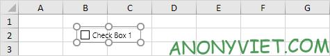 Bài 26: Cách sử dụng Checkbox trong Excel 84