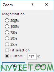 Bài 31: Cách sử dụng Zoom - thu phóng giao diện trong Excel 27