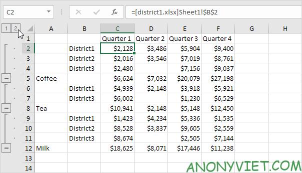 Bài 35: Cách hợp nhất trang tính để xử lý dữ liệu ở các File Excel khác nhau 36