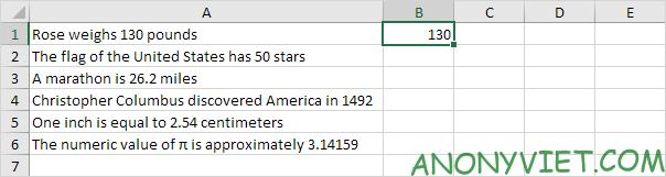 Ví dụ 4 Flash Fill Excel