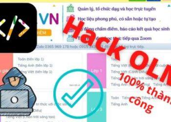 Cách Hack OLM Full điểm với 8 bước 1
