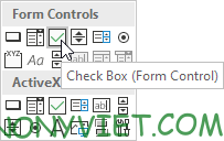 Bài 26: Cách sử dụng Checkbox trong Excel 83