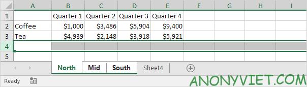 Bài 34: Cách nhóm trang tính - Gộp các Sheet thành Group trong Excel 27