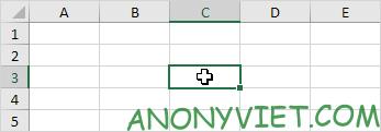 ô c3 trong Excel