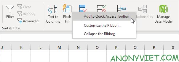 Bài 22: Cách sử dụng Quick Access Toolbar trong Microsoft Excel 31