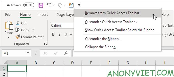 Bài 22: Cách sử dụng Quick Access Toolbar trong Microsoft Excel 33