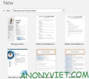 Cách tạo sơ yếu lý lịch chuyên nghiệp bằng Microsoft Word 22