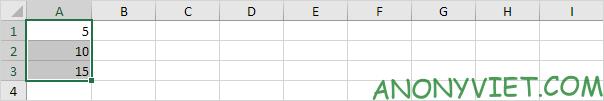 Bài 25: Cách sử dụng Status Bar trong Excel 55