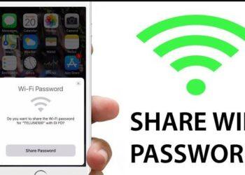 share pass wifi an toan