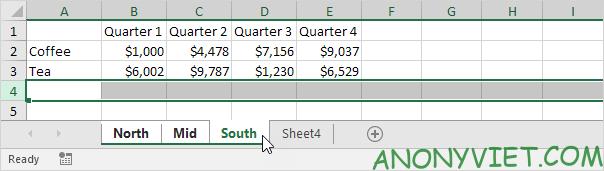 Bài 34: Cách nhóm trang tính - Gộp các Sheet thành Group trong Excel 28