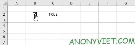 Bài 26: Cách sử dụng Checkbox trong Excel 88