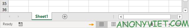 Bài 25: Cách sử dụng Status Bar trong Excel 57