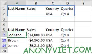 Bài 217: Lọc Nâng cao ( Advanced Filter) trong Excel 30