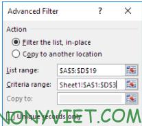 Bài 217: Lọc Nâng cao ( Advanced Filter) trong Excel 31