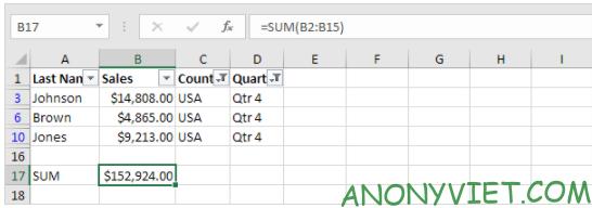 Bài 221: Subtotal trong Excel 28
