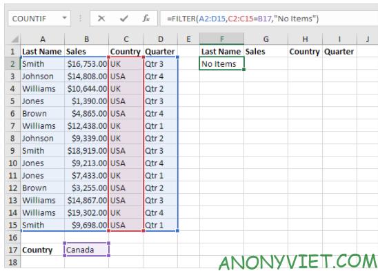 Bài 223: Hàm Filter trong Excel 29