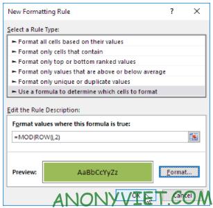 Bài 229: Thêm màu cho Rows trong Excel 27