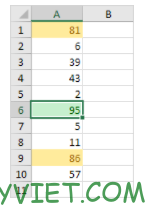 Bài 231: Điều kiện không theo thứ tự trong Excel 24