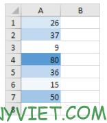 Bài 226: Color Scales trong Excel 32