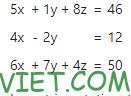 Bài 209: Hệ phương trình tuyến tính trong Excel