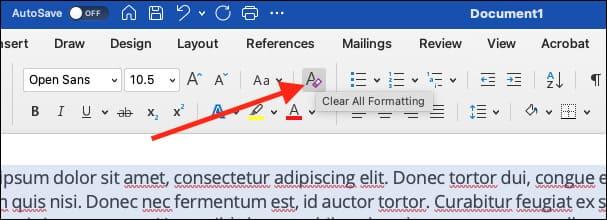 Cách xóa tất cả định dạng trong Microsoft Word 15