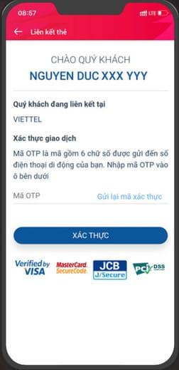 Cách nhận 120k miễn phí từ ViettelPay 58
