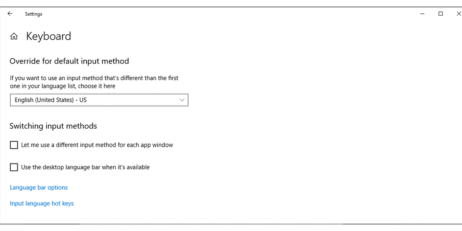 7 cách sửa lỗi bàn phím gõ nhiều chữ trong Windows 10 9