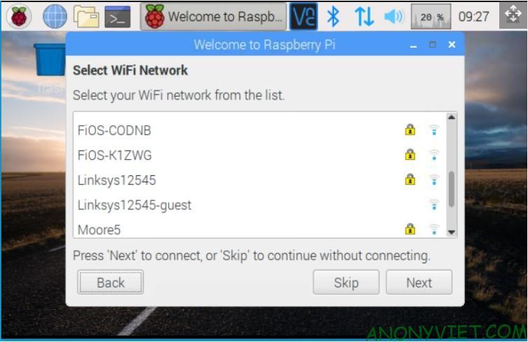 Cài đặt Wifi